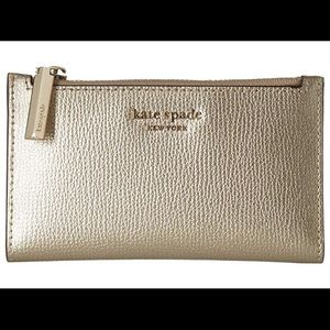 "Kate Spade Small Slim Bifold ""Sylvia"" wallet"